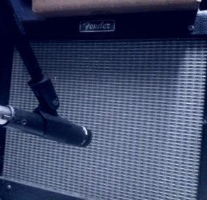 Oz Chiri Recording Amp Shure