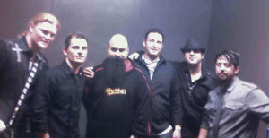 Oz Chiri with Blue Embrace and Tony Campos at The Whisky A Go Go